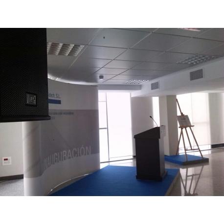 Equipos de sonido para actos