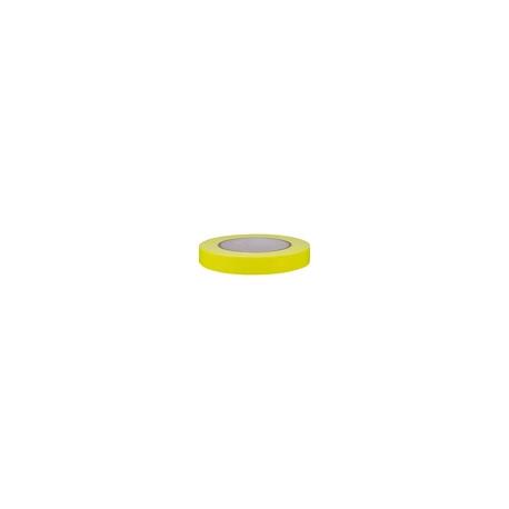 Cinta Adhesiva Fluorescente Amarilla