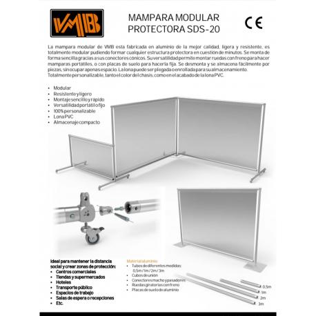 Alquiler,  venta e instalación mamparas de protección, distancia social Zaragoza, Huesca y Teruel.